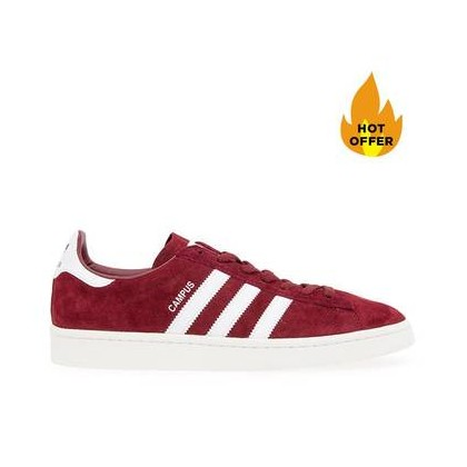 Campus Collegiate Burgundy/Ftwr White/Chalk White