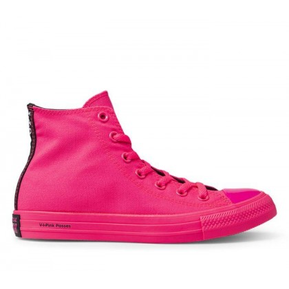 Converse x OPI CT All Star Hi Hyper Pink/Black/Hyper Pink