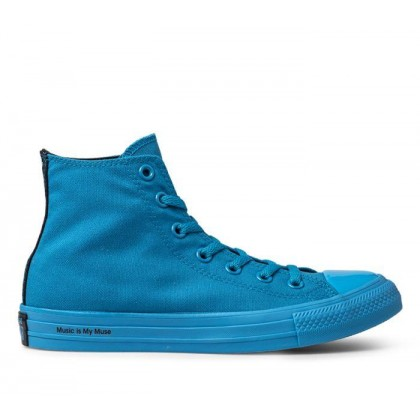 Converse x OPI CT All Star Hi Cyan Space/Black/Cyan Space