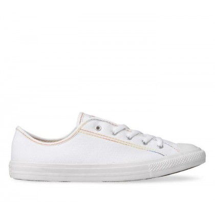 CT All Star Dainty Rainbow Lo White/Yellow/White