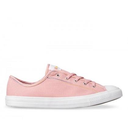 CT All Star Dainty Rainbow Lo Coastal Pink/Yellow/White