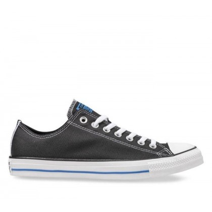 CT All Star Embroidered Sport BLACK/TOTALLY BLUE/WHITE