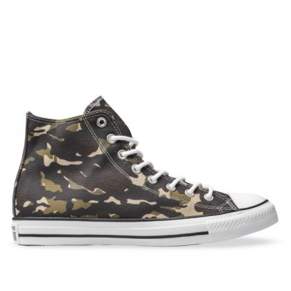 CT All Star Hi Camo Black/Khaki/White