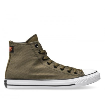 CT All Star Hi Twill Surplus Olive/Black/White