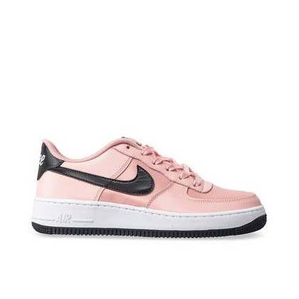 Kids Air Force 1 VDAY GS Bleached Coral/Black-White