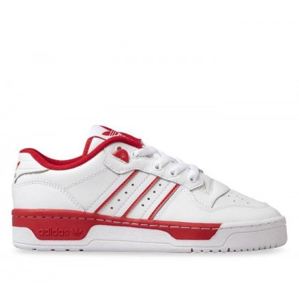 Kids Rivalry Low Ftwr White/Ftwr White/Scarlet