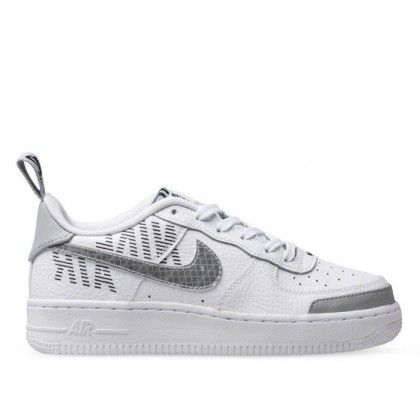 Kids Youth Air Force 1 LV8 2 White/Wolf Grey-Black