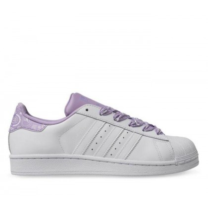 Kids Youth Superstar Ftwr White/Ftwr White/Purple Glow
