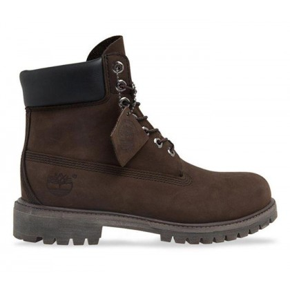 Men's 6-Inch Premium Waterproof Boot Medium Brown Nubuck