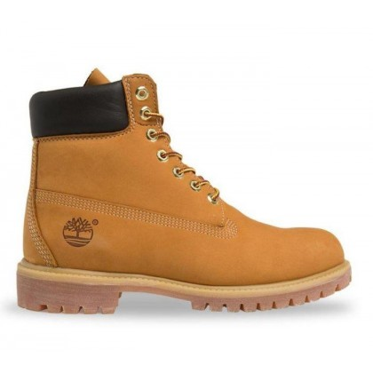 Men's 6-Inch Premium Waterproof Boot Wheat Nubuck