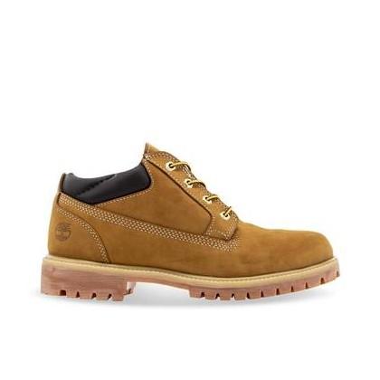 Men's Classic Oxford Waterproof Boots Wheat Nubuck