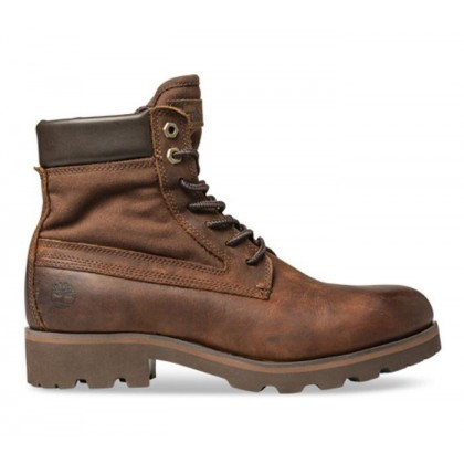 Men's Raw Tribe 6-Inch Boots MD Brown Full Grain