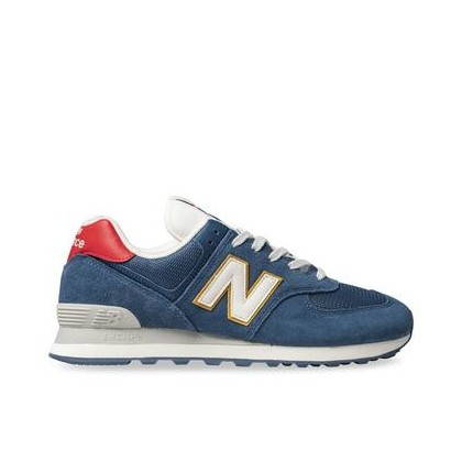 Mens 574 Blue/Red
