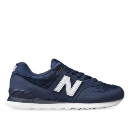 Mens 574 Navy White
