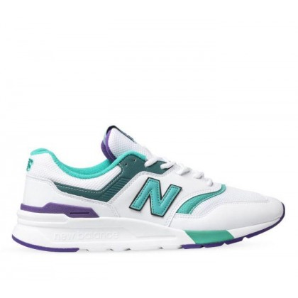 Mens 997 White/Purple