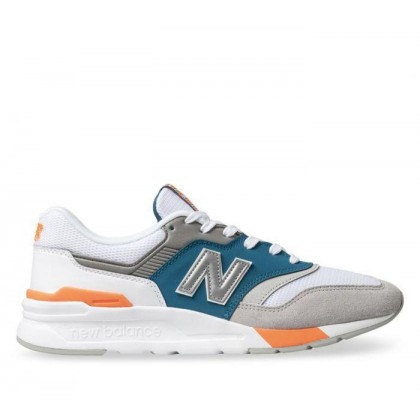 Mens 997H White/Blue/PInk