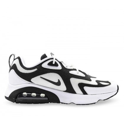 Mens Air Max 200 White/Black-Anthracite