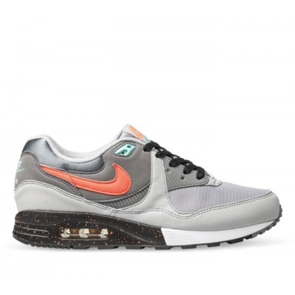 Mens Air Max Light Wolf Grey/Flash Crimson-Cool Grey-Black