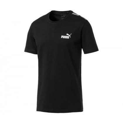 Mens Amplified Tee Cotton Black