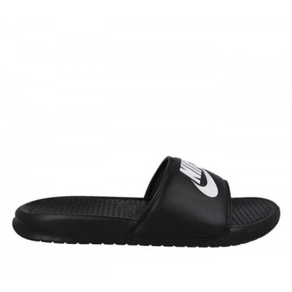 Mens Benassi Just Do It Slide Black White