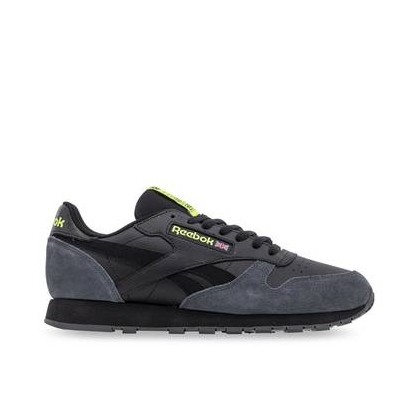 Mens Classic Leather GG-Black/TrueGry/Wht