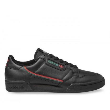 Mens Continental 80 Core Black/Scarlet/Collegiate Green