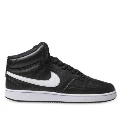 Mens Court Vision Mid Black/White