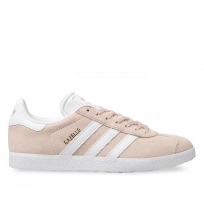 Mens Gazelle Vapour Pink/White/Gold Met.