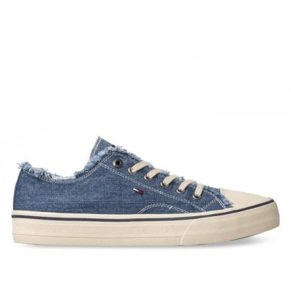 Mens Low Cut Sneakers Denim