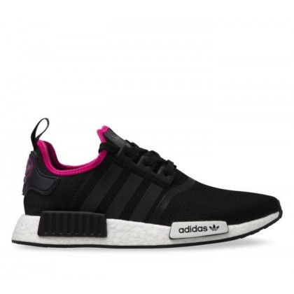 Mens NMD_R1 Core Black/Core Blk/Shock Pink