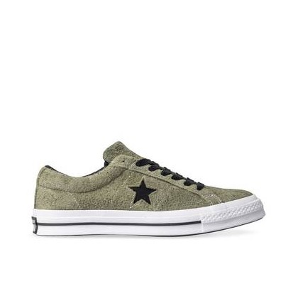 Mens One Star Dark Star Field Surplus/Black/White