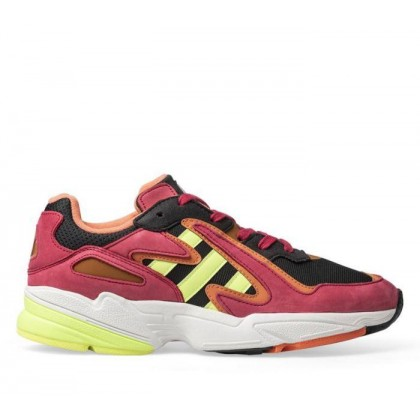 Mens Yung-96 Chasm Core Black/Hi-Res Yellow/Energy Pink F17