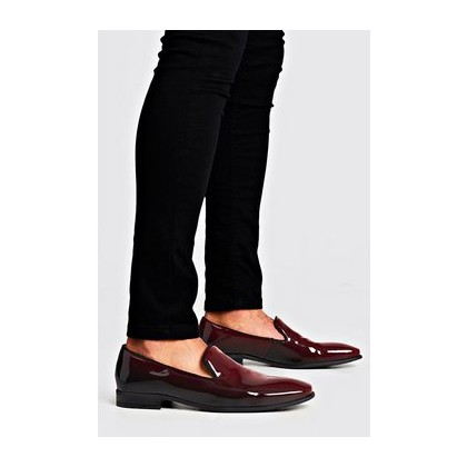Party Colour Change Loafer in Burgundy