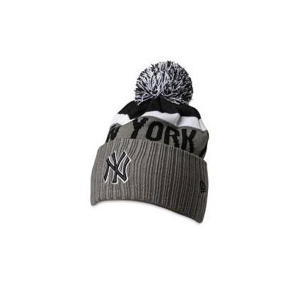 NY Pom Knit Grey