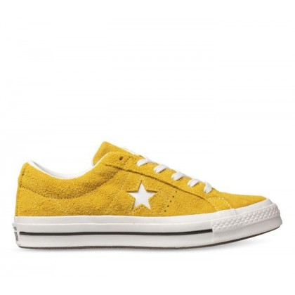 One Star Premium Suede Gold Dart/White/Black