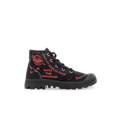 Pampa Protest Black