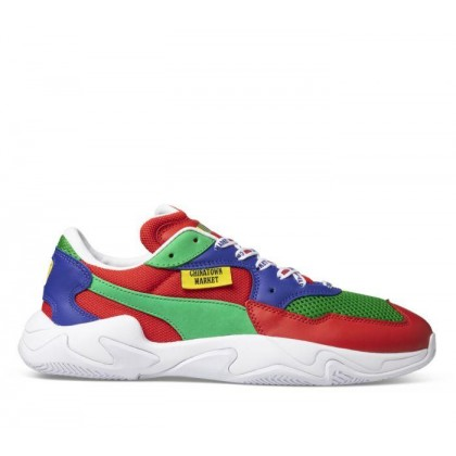 Puma X Chinatown Market Storm High Risk Red-Fern Green