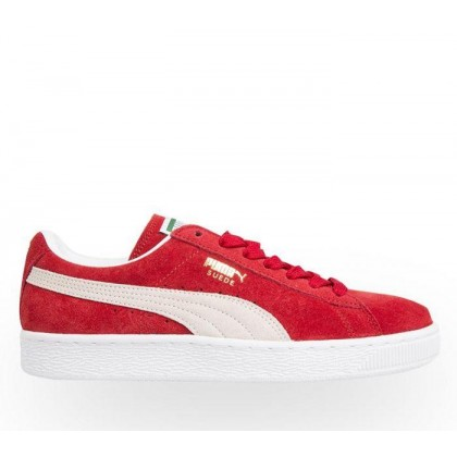 Suede Classic Team Regal Red White