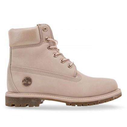Women's 6-Inch Premium Boot Lt Pink Nubuck w Metallic