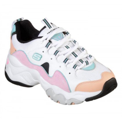 Women's D'Lites 3 - Zenway White/Pink/Blue