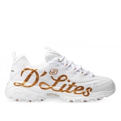 Women's D'Lites - Glitzy City White/Rose Gold