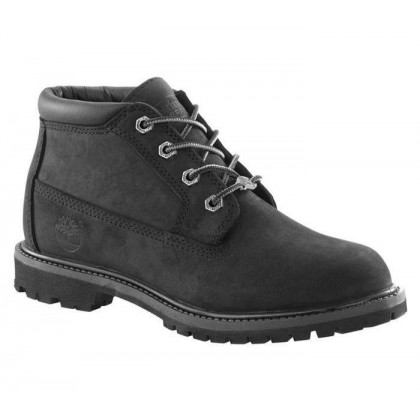Women's Nellie Chukka Boot Black Nubuck