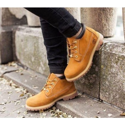 Women's Nellie Waterproof Chukka Boot Wheat Nubuck