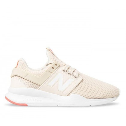 Womens 247 Beige/White