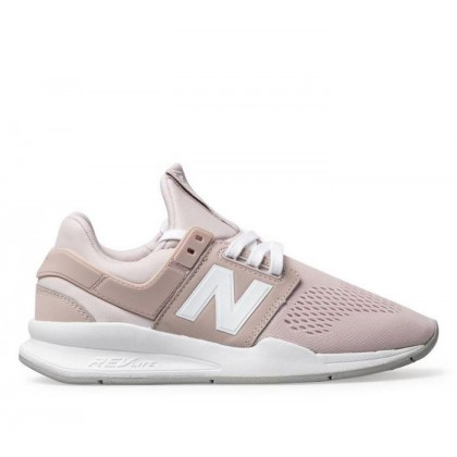 Womens 247 Pale Pink/White
