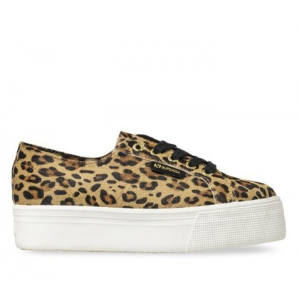 Womens 2790 FGLW Platform U21 - Brown Leopard