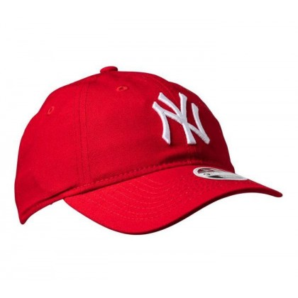 Womens 940CS NY Yankees Cap Scarlet