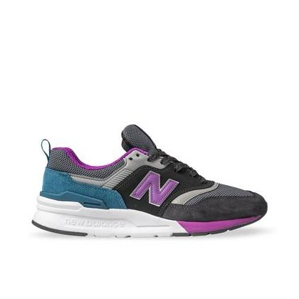 Womens 997H Black/Purple/Green