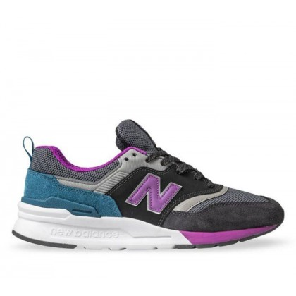 Womens 997H Black/Purple/Green