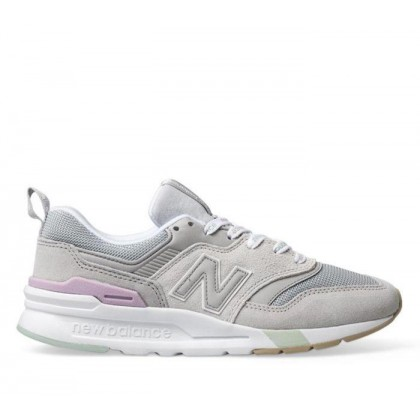 Womens 997H Grey/White